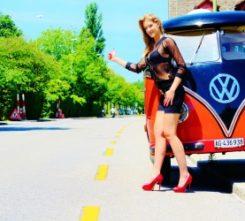 Amsterdam Hitchhike Stripper