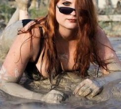 Budapest Roly Poly Mud Wrestling
