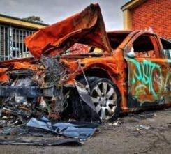 Hamburg Car Vandalising