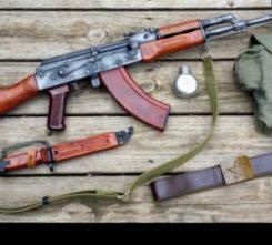 Krakow AK 47 Shooting